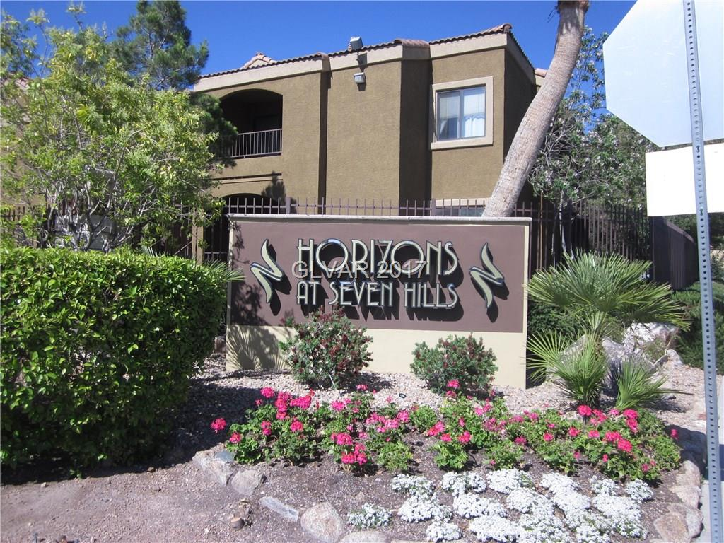 Great opportunity for investor or owner occupied! Ideal 2 bedroom condo in Henderson with so many amenities nearby. Upstairs unit, balcony, fireplace, vaulted ceiling for a spacious feeling. Separate laundry room and all appliances included! Gated community with beautiful clubhouse, pool, spa, exercise room. Don't miss this one!