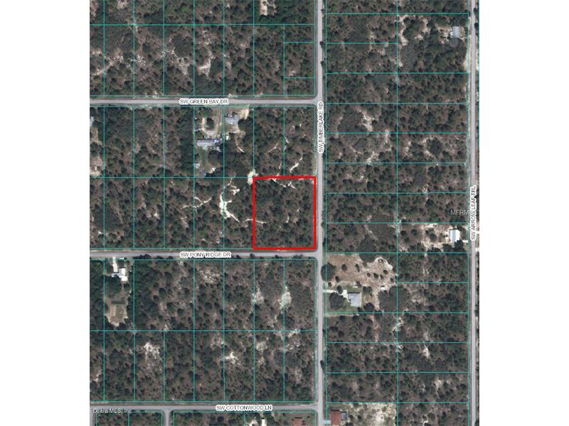 00 PONY RIDGE DRIVE, DUNNELLON, FL 34431