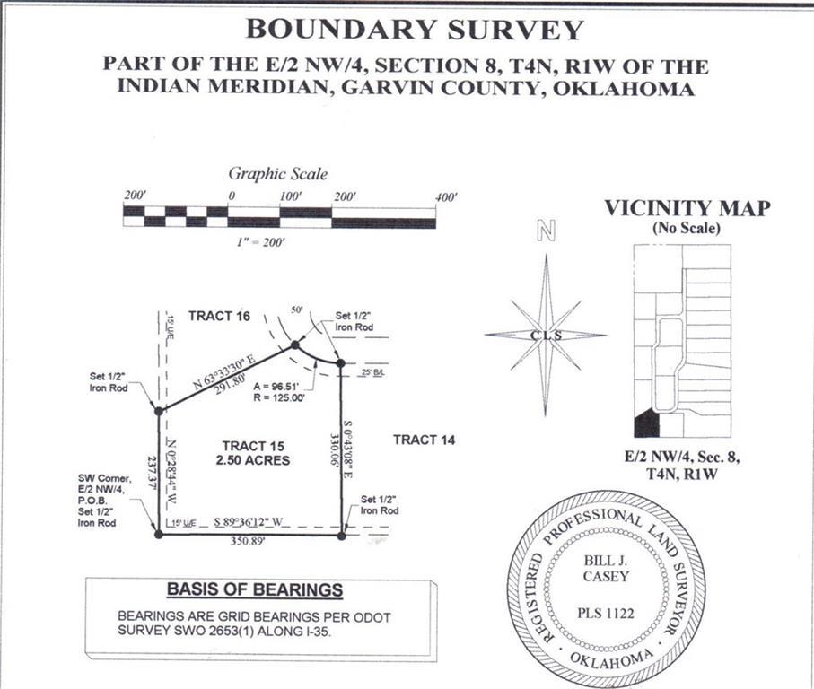 N County Road 3183 (Tract 15), Paoli, OK 73074