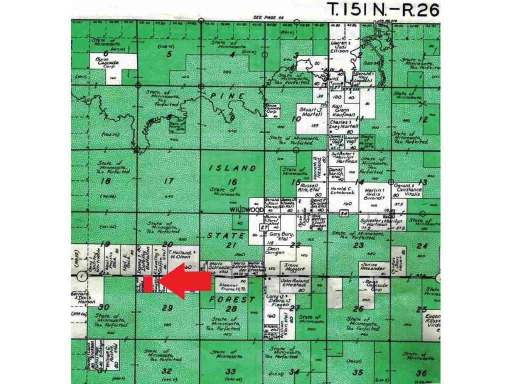 TBD Hwy 1, South Koochiching Unorg. Terr., MN 56661