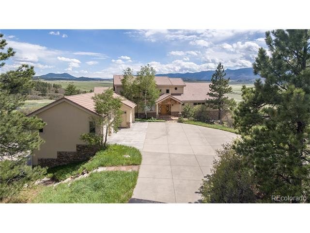5102 S Perry Park Road, Sedalia, CO 80135
