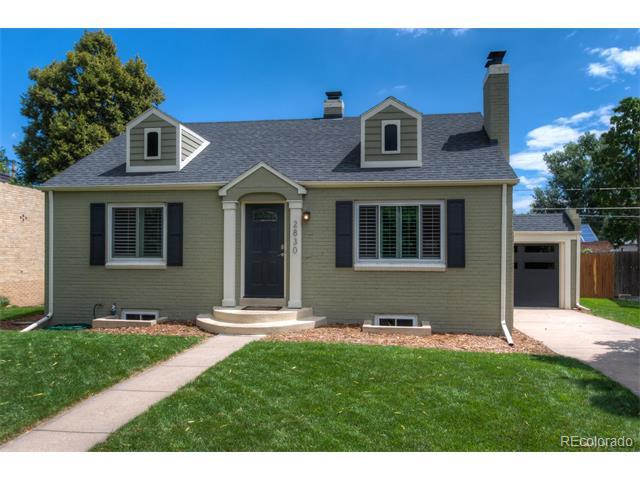 2830 Forest Street, Denver, CO 80207