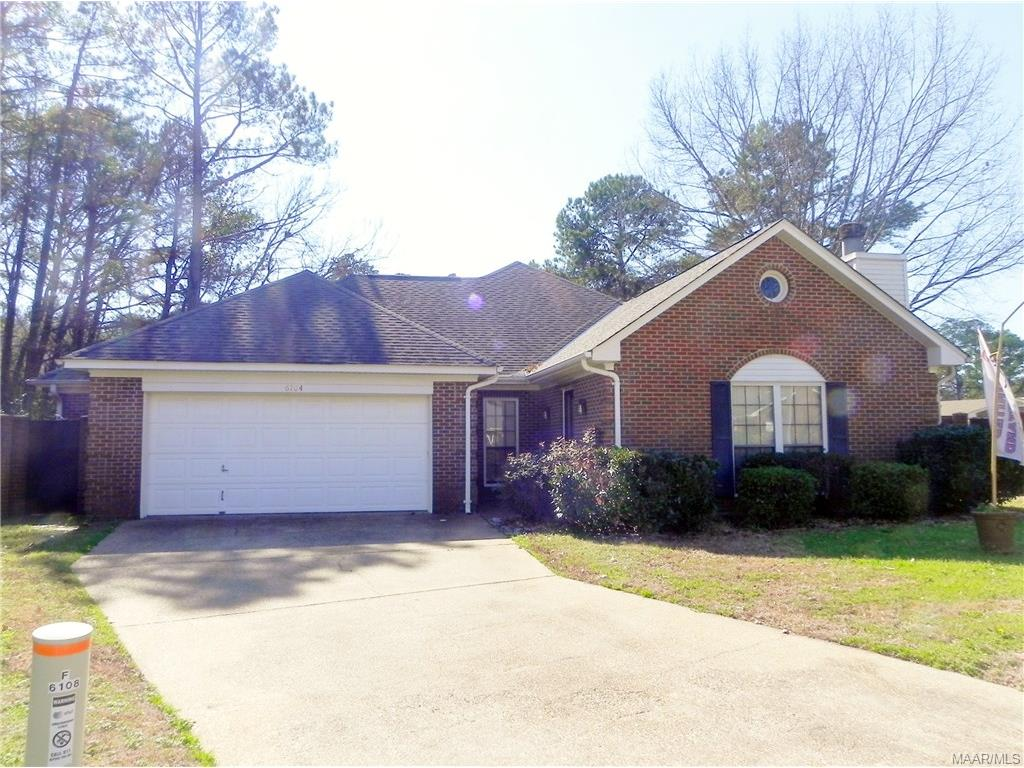 6104 BELL ROAD Manor, Montgomery, AL 36117