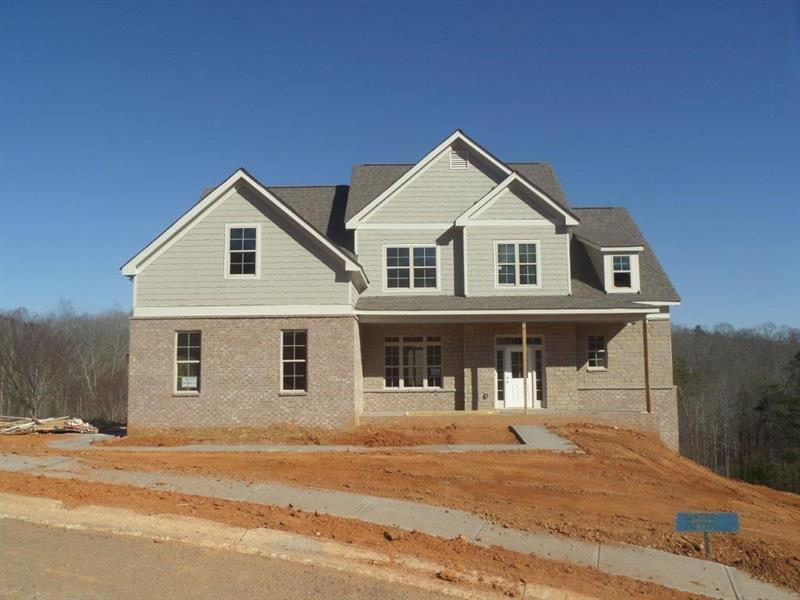 """Come out & view """"The Holly Springs"""" plan at The Shores at Lynncliff. This Craftsman style home will offer beautiful upgrades including granite countertops, brushed nickel plumbing hardware, wood flooring, ceramic tile in the bathrooms, smooth ceilings throughout, crown molding and more. The exterior will have stone accents, cement fiber siding, and professionally landscaped and sodded yard. The neighborhood amenities will include lake access at the Community Dock, swimming pool at the Clubhouse, and playground. Single slip dock permits will be available."""