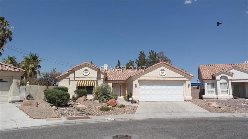 Incredible 3 bed, 2 bath, 2 car garage Single Story home in Silverado Ranch! Kitchen includes Stainless Steel Refrigerator, Tile Countertops & Tile Flooring w/Spacious Dining Area. Living room w/ceiling fan & fireplace. Spacious Master Bedroom w/ceiling fan & Master Bath w/Double Sinks. Backyard with Huge Lot, Covered Patio, Basket Ball half court and low maintenance desert landscaping. Newer AC & Water Heater.