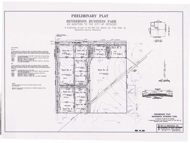 3551 N Henderson Drive Lot 8b, Spencer, OK 73084