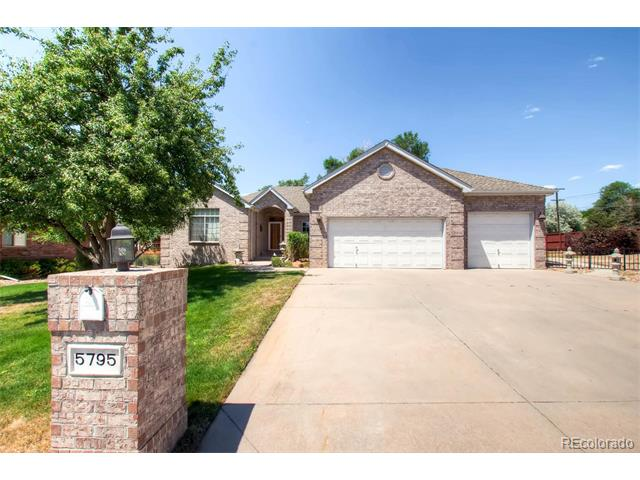 Beautiful Brick Arvada Home! Spacious Ranch with open floorplan.  Updated kitchen, & neutral colors.  Clean and ready to move into!  HUGE spacious yard.  Large basement with tons of options for the space.  Lots of extra storage. Fantastic location in quiet community that takes pride in ownership. Close to light rail station coming soon to Arvada.