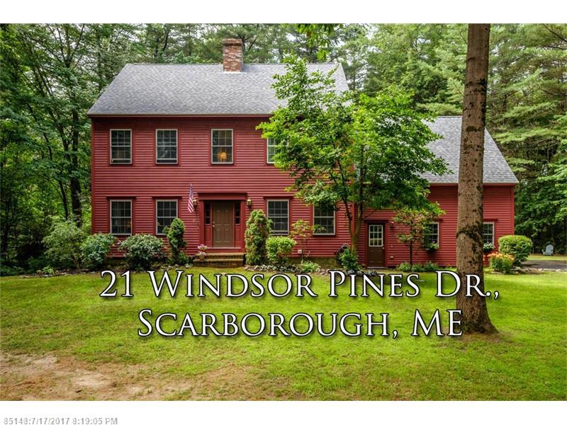 21 Windsor Pines DR , Scarborough, ME 04074