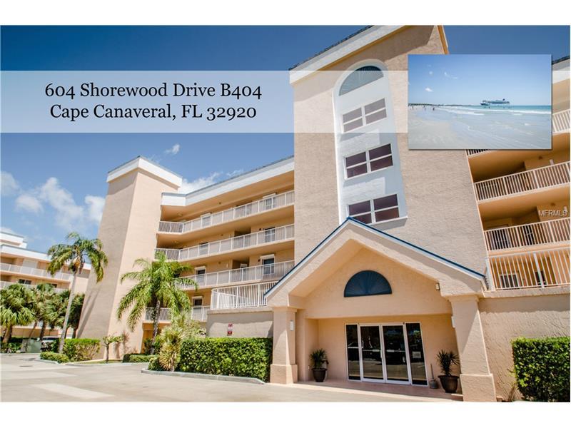 604 SHOREWOOD DRIVE 404B, CAPE CANAVERAL, FL 32920