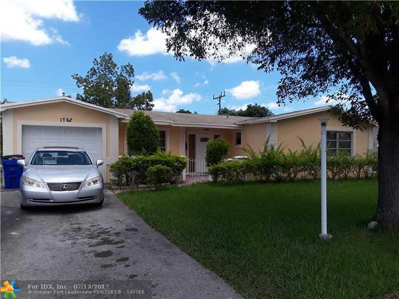 1762 NW 66th Ave, Margate, FL 33063