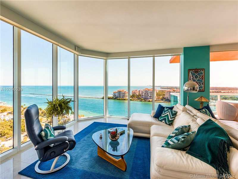 300 S Pointe Dr 2101, Miami Beach, FL 33139