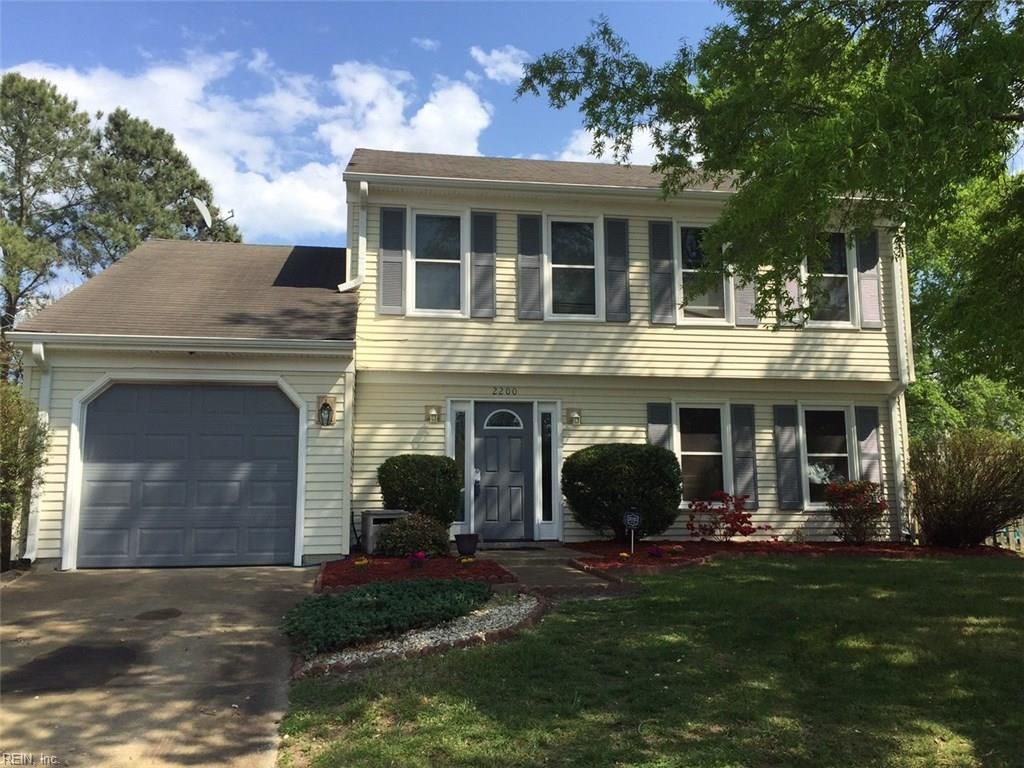 2200 SPRING RUN CT, Virginia Beach, VA 23454