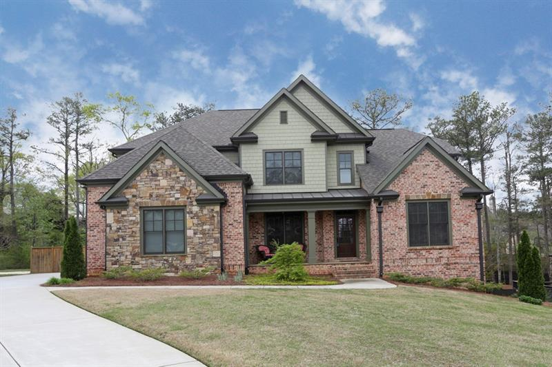 Gorgeous newer construction! Kitchen feat tons of storage/prep space,s/s apps,granite counters,lg island,& walk-in pantry! Open fam rm boasts coffered ceiling,built-ins,& gas FP. Formal din rm for entertaining! Main lvl study! Master on main w/ trey ceiling,walk-in closet w/ custom shelving,& spa-like bath. Add'l bdrms well-sized w/ attached baths. 2nd flr bonus space perfect for media rm! Unfin basement waiting for ideas! 3 car garage! Outdoor space includes screened porch w/ firepit,deck,& fenced b'yard! Great location convenient to interstates,shopping,& restaurants!