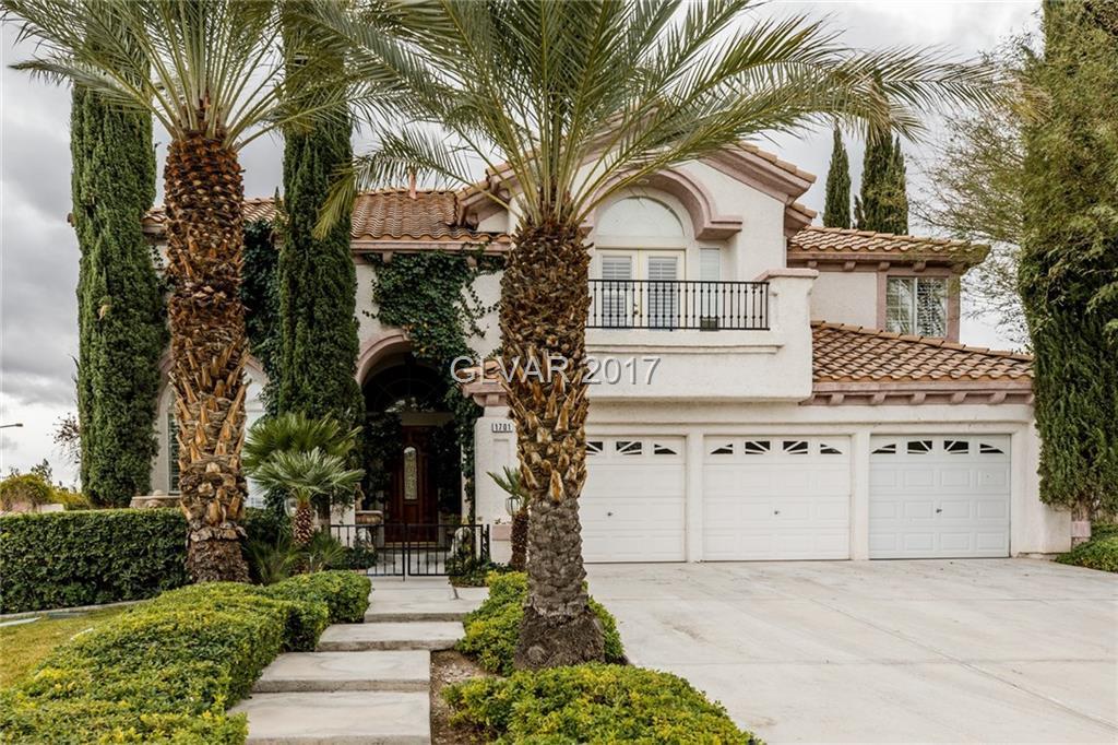 1701 CORTA BELLA Drive, Las Vegas, NV 89134