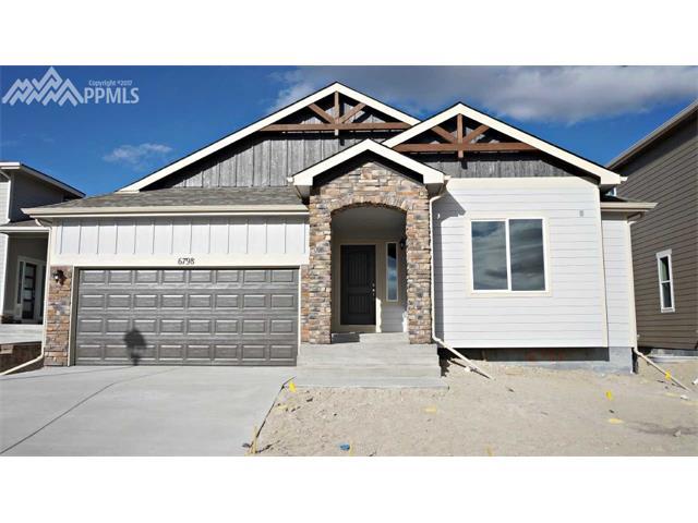 6798 Black Saddle Drive, Colorado Springs, CO 80924