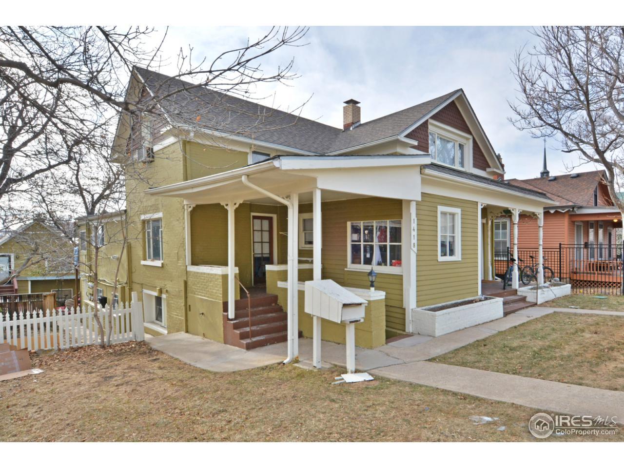 1418 Mapleton Ave, Boulder, CO 80304