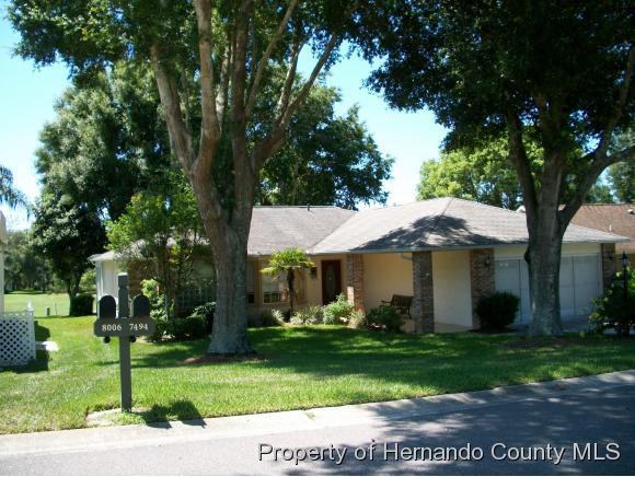 7494 HIDDEN HILLS DR, Spring Hill, FL 34606