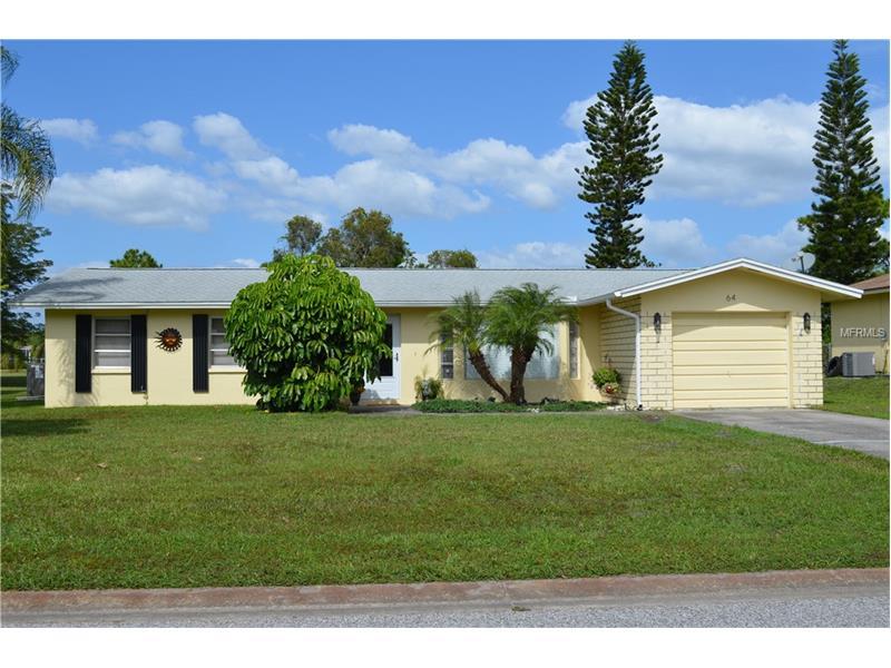 64 OAKLAND HILLS PLACE, ROTONDA WEST, FL 33947