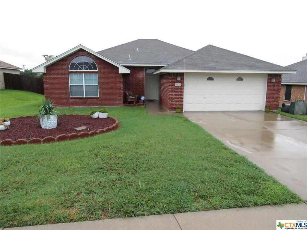 4103 Embers Drive, Killeen, TX 76542