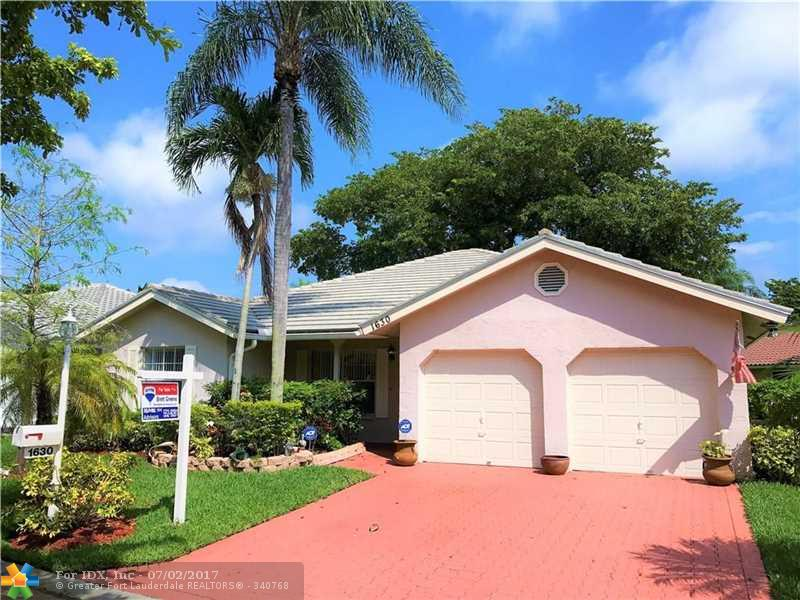 1630 NW 106th Ln, Coral Springs, FL 33071