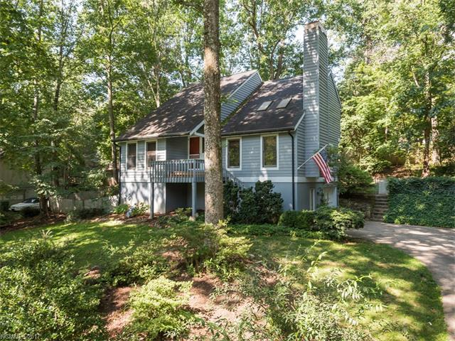 Wonderful contemporary home conveniently located between Asheville and Hendersonville.  Full unfinished basement, fenced rear yard, two hug decks, hardwood on the main, master on the main, loft area on second floor. Move in ready!
