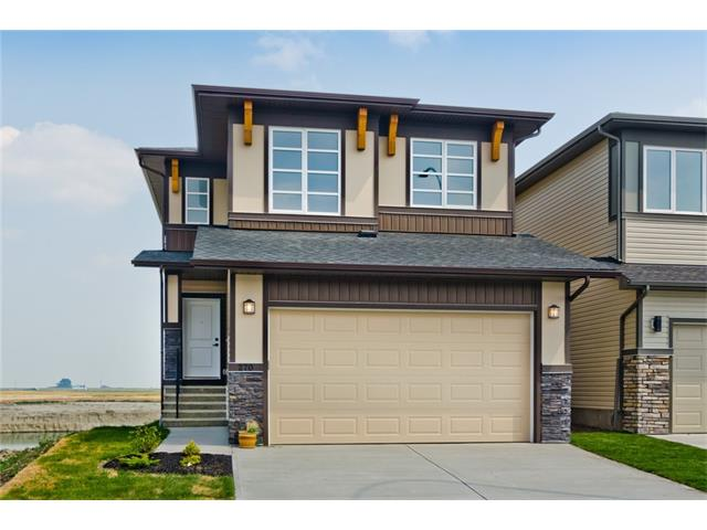 **ALL YOUR WISHES IN 1 HOME**Total Developed Living Area 2824 SqFt***Welcome to 2017 Built Fully Finished Home w/ 2BR Builder Developed WALK-OUT LEGAL Suite Backing to POND/GREEN SPACE having PANORAMIC VIEWS in the Beautiful Community of Cornerstone. The home has tons of Quality Upgrades including SPICE KITCHEN, Eng. Hardwood, Ceramic Tiles, 9' main/basement ceiling, GAS FIREPLACE, CHEF KITCHEN, KitchenAid Appl,Full height cabinet w/ lighting, Wood/Spindle Railing, SEPARATE LAUNDRY, Quartz C/T. The main floor has large Great Room, Modern & Upgraded Kitchen, dining area, spice kitchen followed up FULL 4pc WR W/ BEDROOM.Upper floor has Master Bedroom W/ 6pc Ensuite,Other 3 good size bedrooms, 4pc WR,Bonus Room&Laundry room. The downstairs walkout 2BR LEGAL suite has upgraded kitchen,Living room,4pc WR & Storage room. The Sundeck on Main floor & Patio on Basement suite gives beautiful views of Pond&Greenspace.Get your Mortgage paid from the Basement suite.LEGAL Basement Suite Opportunities are Rare..Call now