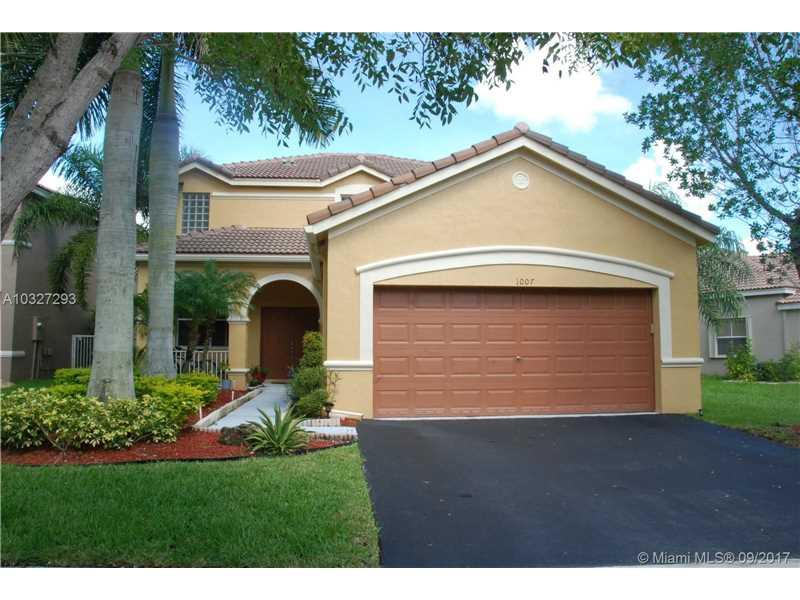 1007 Silktree Ln, Weston, FL 33327