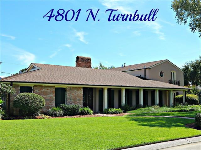 4801 N TURNBULL Drive, Metairie, LA 70002