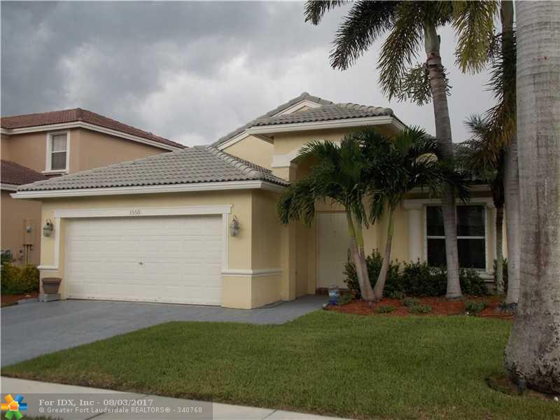 1550 SW 194th Ave, Pembroke Pines, FL 33029