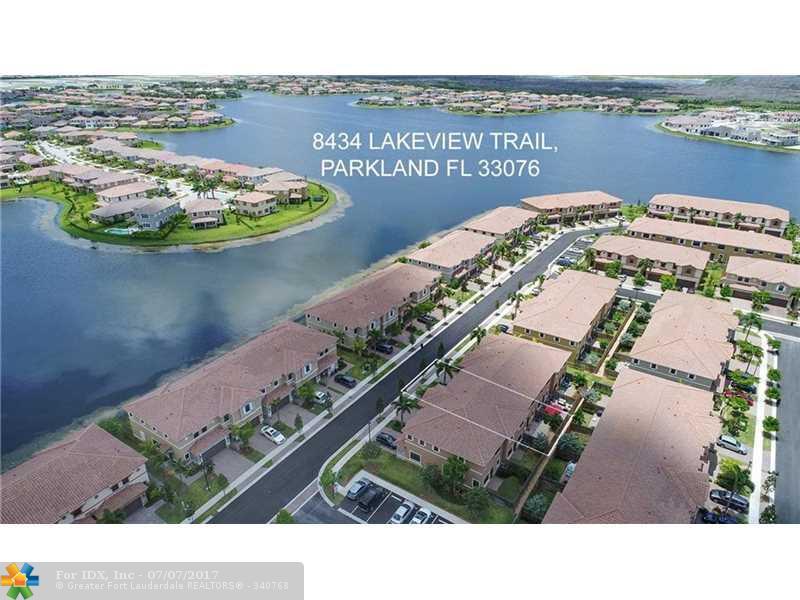 8434 Lakeview Trl 8434, Parkland, FL 33076