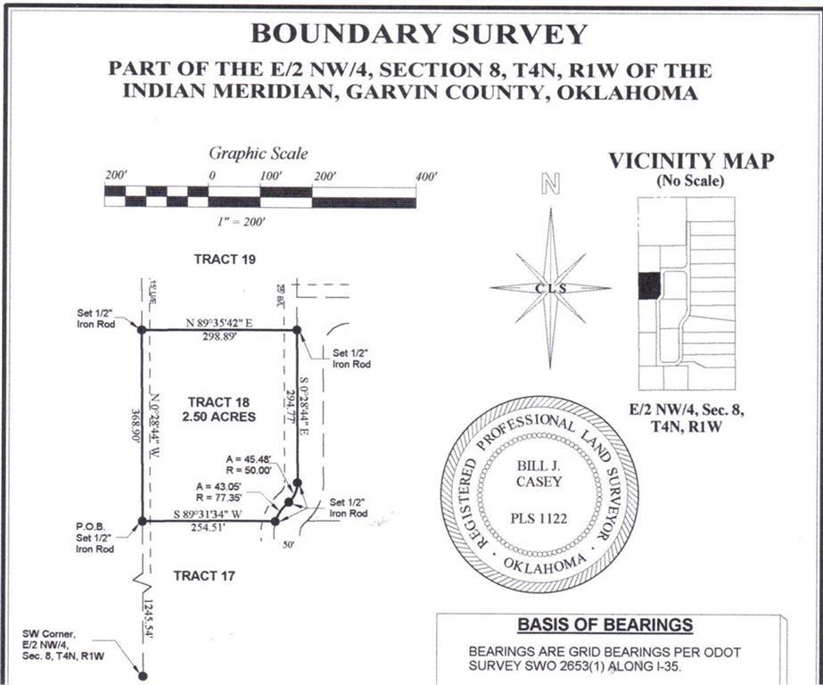 N County Road 3183 (Tract 18), Paoli, OK 73074