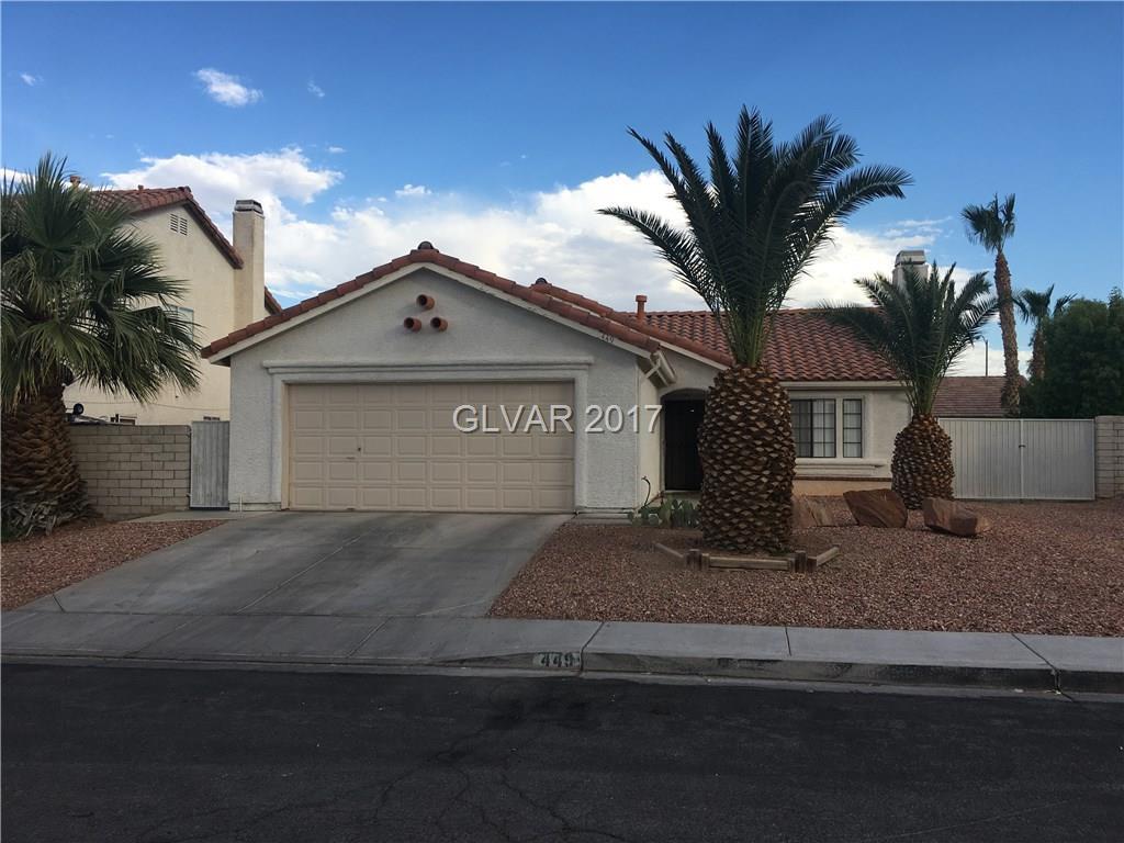 449 KELSFORD Drive, Las Vegas, NV 89123