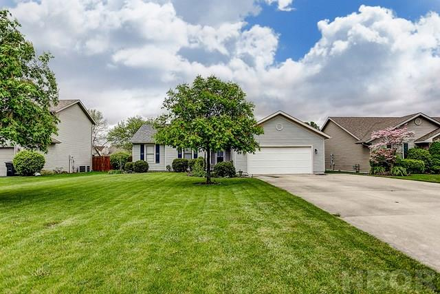 ROONEY & ASSOCIATES REAL ESTATE LISTING.  Contact Kim Cameron at (419)306-7823 or Brian Whitta at (419)701-4040 for additional information.  Just move into this adorable ranch!  Large living room is open to the eat-in kitchen with granite countertops and tile backsplash.  Master bedroom with private master bathroom.  Wood look luxury vinyl tile in the living room, kitchen, master bedroom and hallway.  Private backyard.  First American Home Warranty with an acceptable offer.  Contingent upon sellers obtaining suitable housing.