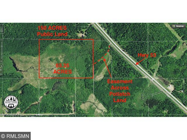 XXX Hwy. 53 Road, Industrial Twp, MN 55779