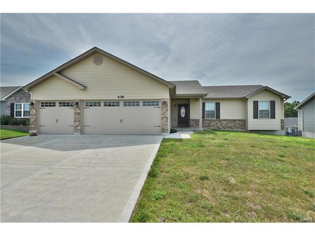 438 Prairie Creek, Foristell, MO 63348