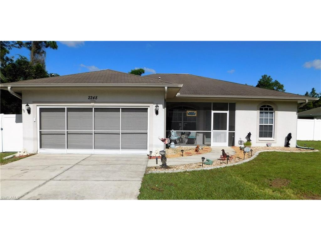 2248 N Cranberry BLVD, NORTH PORT, FL 34286