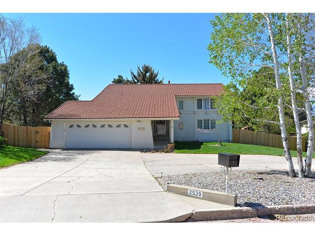 2539 Shalimar Drive, Colorado Springs, CO 80915