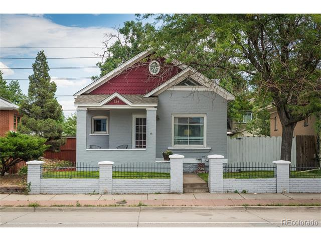 734 S Lincoln Street, Denver, CO 80209