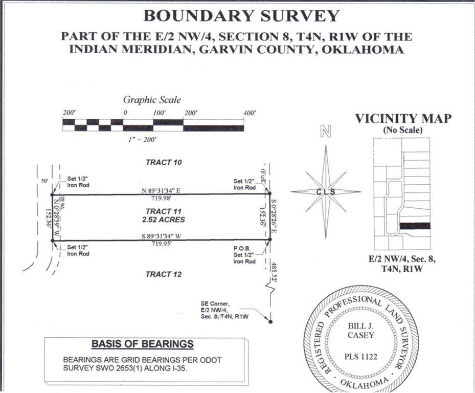 N County Road 3183 (Tract 11), Paoli, OK 73074
