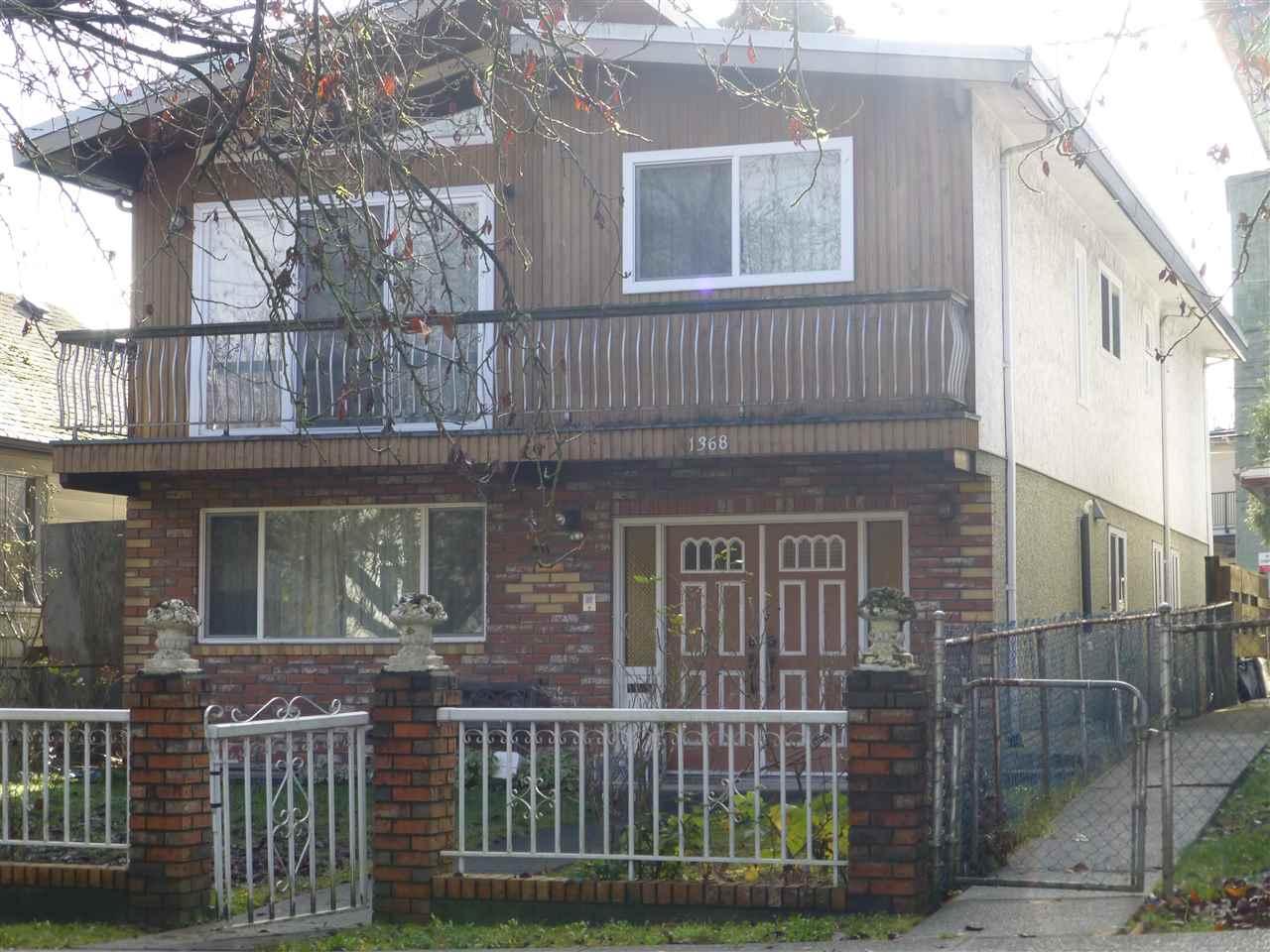 1368 E 21ST AVENUE, Vancouver, BC V5V 1T2