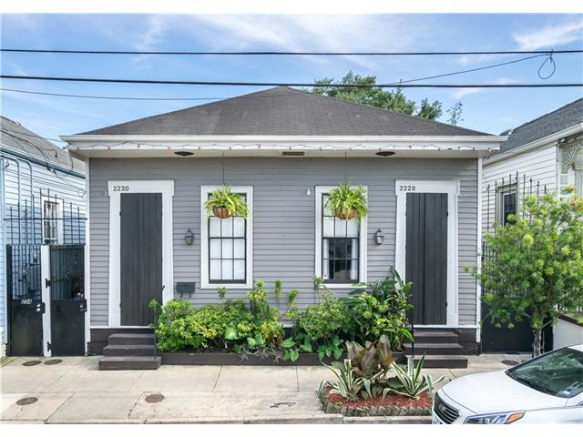 Faubourg Marigny And Bywater Homes