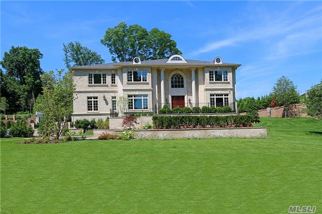 Palatial New Construction Homes In Roslyn Harbor, On One Acre Parcels. Elegant Homes Featuring The Finest Level Of Design And Construction With Custom Millwork And Distinctive Architectural Details Throughout. State-Of- The-Art Gourmet Chef's Kitchen. North Shore Schools.