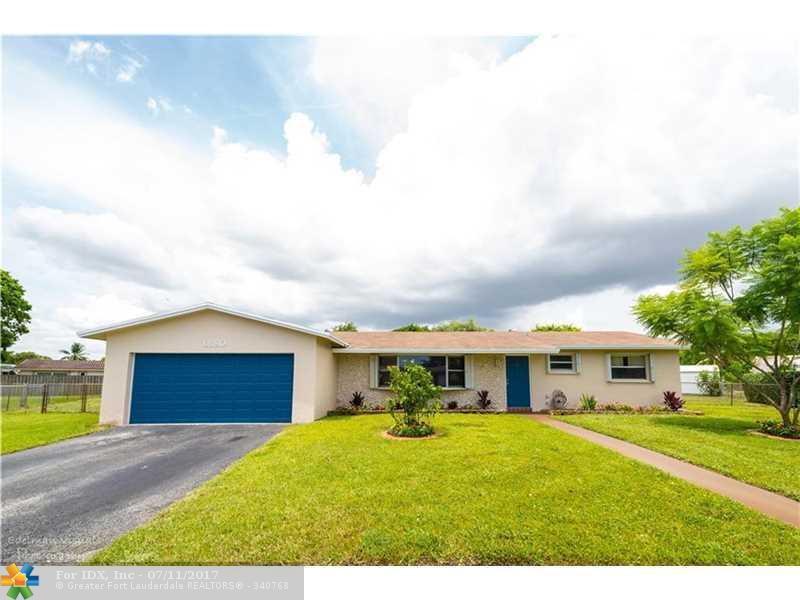 6680 SW 3rd St, Margate, FL 33068