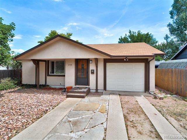 1719 Holmes Drive, Colorado Springs, CO 80909