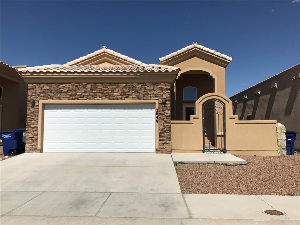 3649 Morgan Bay Street, El Paso, TX 79936