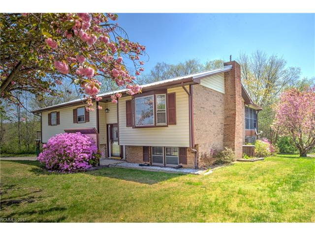 A three bedroom, two bath split level home on a fairly level good size lot with more than adequate parking and lots of under cover work space.  It's habitable, yet needs work, therefore the price.