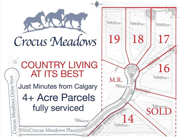 16 Crocus Meadows Place W, Rural Foothills M.D., AB T1S 1A2