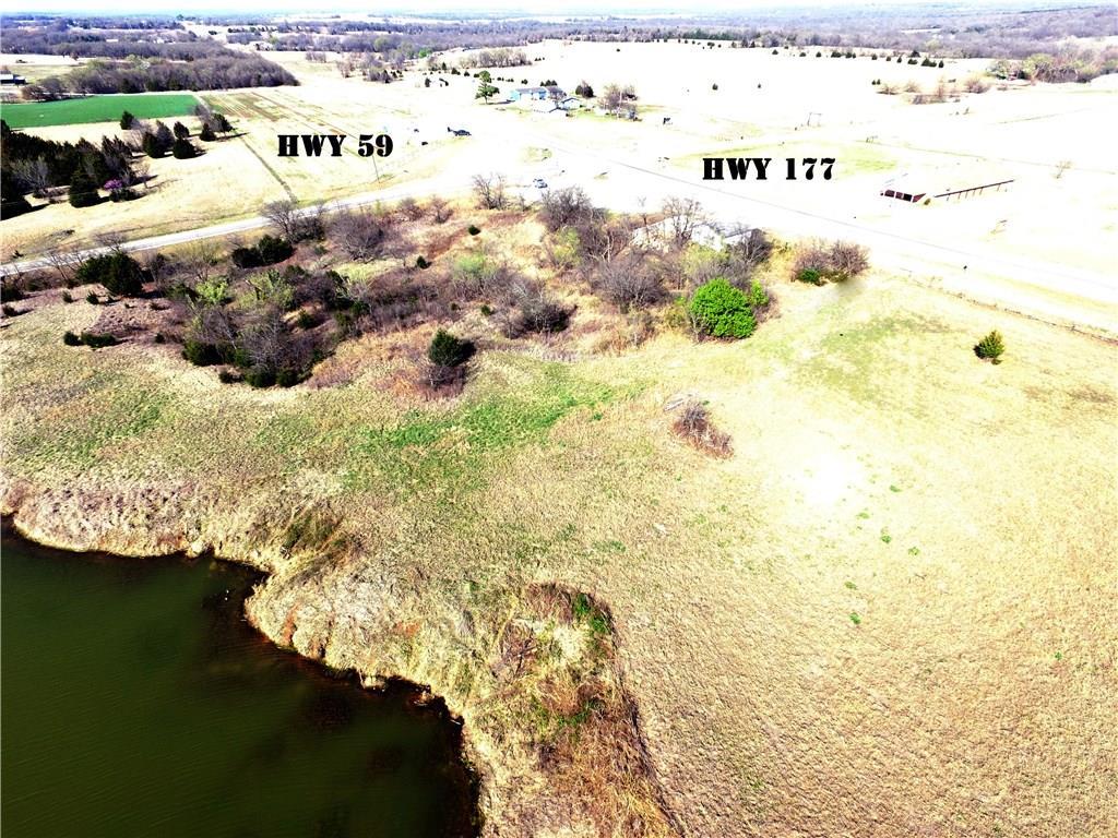 SW Corner of Hwy 59 and 177 - 10 Acres, Byars, OK 74831