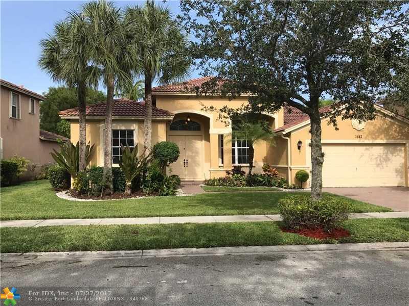 3847 W Gardenia Ave, Weston, FL 33332