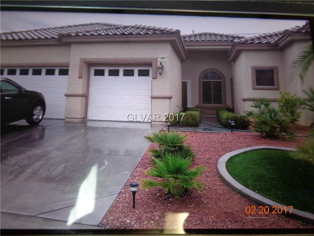 492 SUNSET VILLA Drive, Las Vegas, NV 89110